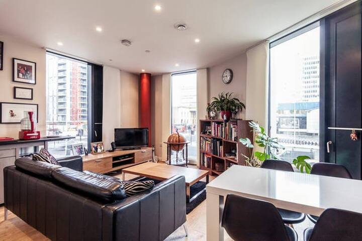 Zone 1 private room in modern apartment. - Londen - Appartement