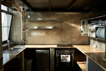 One of a Kind Industrial Loft in Prague 5 - Praga