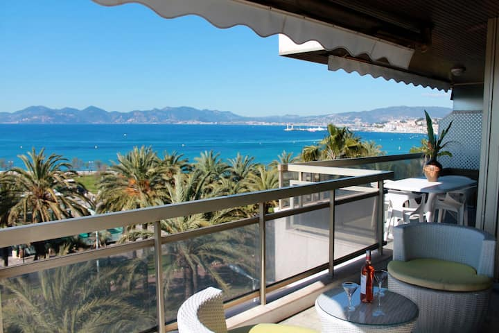 Exceptional view 81 bd of the Croisette