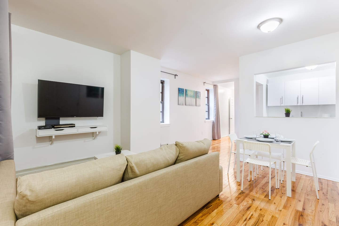 new yorker 1bd apt steps to trains central park apartments for