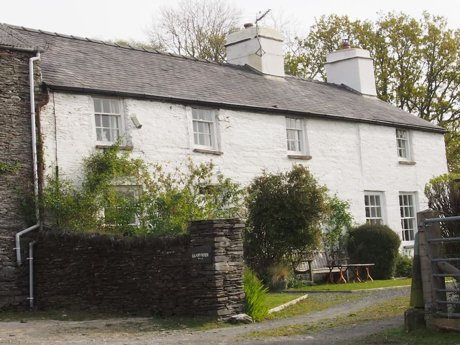 Traditional Welsh farm house