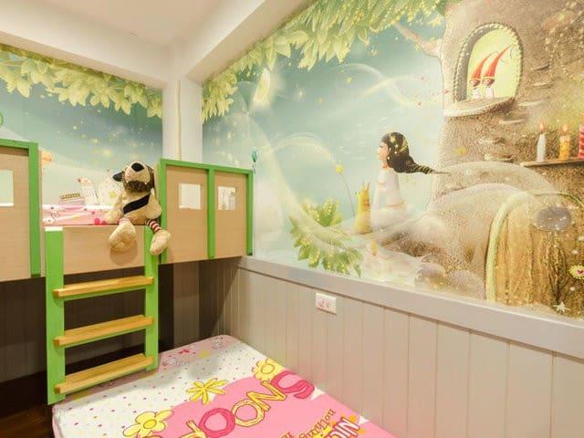 兒童歡樂屋 (台灣知名的溜滑梯親子民宿-宜人生活)