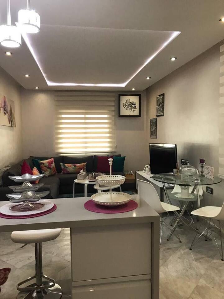 Appartement bien situé au coeur du Maarif