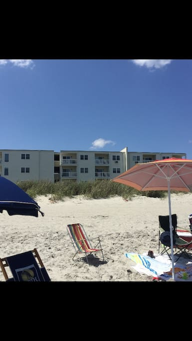 Your seaside escape.  The home is directly facing the beach.