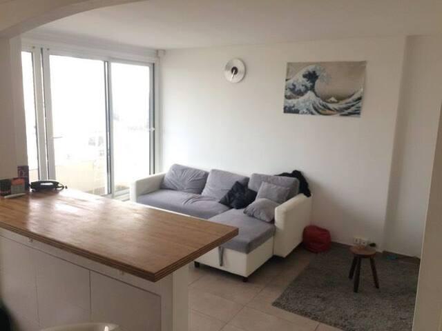 Appartement Chambre + séjour (Colocation) - Nanterre - Apartment