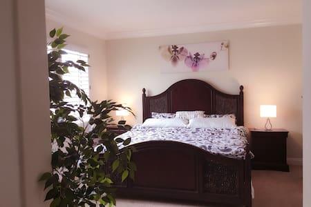 豪华主卧 master bedroom - アーバイン