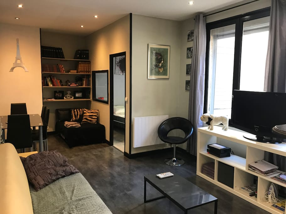 appartement cosy hypercentre amiens 45m2 appartements louer amiens picardie france. Black Bedroom Furniture Sets. Home Design Ideas