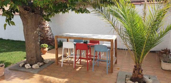 Maison familiale individuelle piscine et jardin