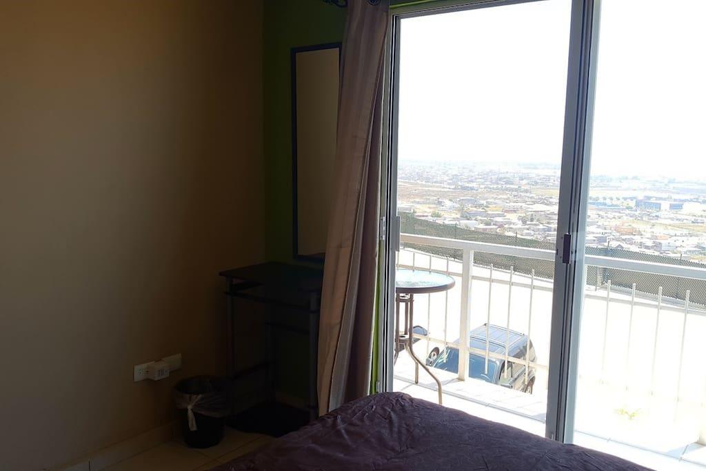 Balcony bedroom I