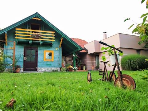 Sjarmerende gjestehus i idylliske omgivelser