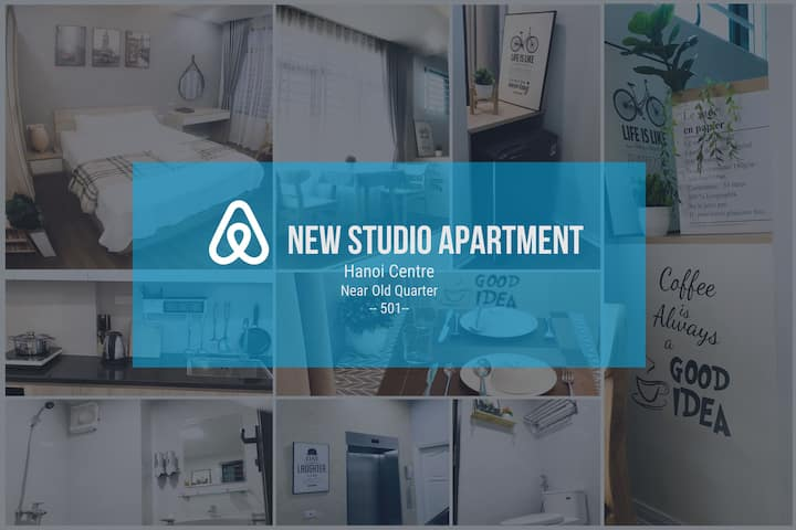 New Studio Apt, Hoan Kiem, near old quarter #0501#