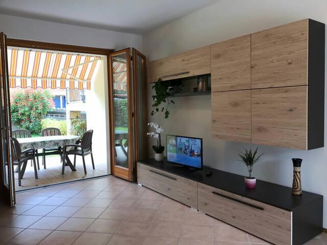 Center apartment with garden/free parking - Torri del Benaco - Appartement