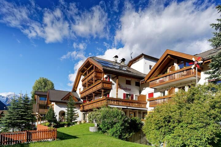 Ferienwohnungen in den Dolomiten