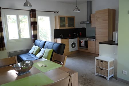 Appartement aux portes du Parc du Mercantour - Guillaumes - Apartament