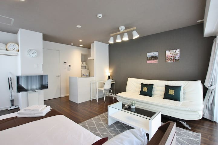 4F■New■35㎡■DBL■Near Tenjin Hakata Canal City■Wi-Fi