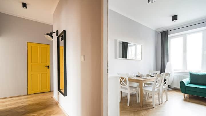 #VisitLublin Apartments Yellow!