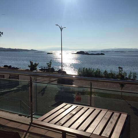 Balconcito a la Ria de Arousa - Ribeira - Appartement