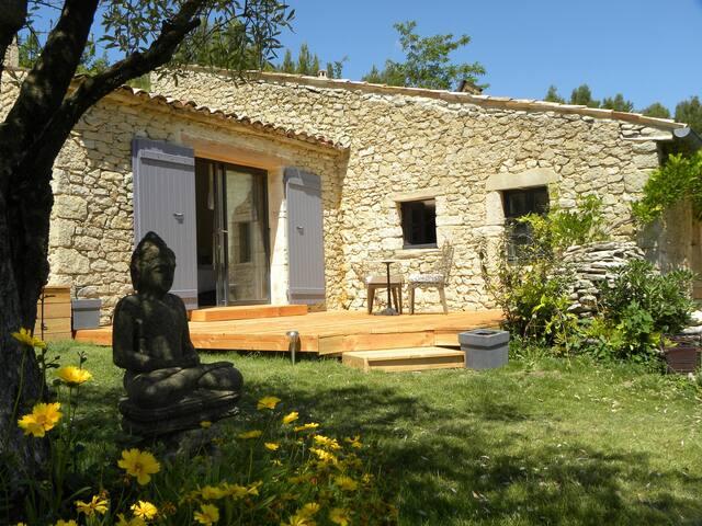 Chambre d'hôtes de charme,calme et vue - Vaison-la-Romaine