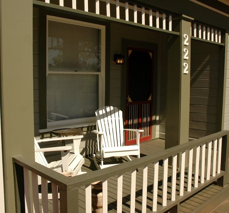 Imagine Stting on the Front Porch Reading a Book or Sipping a Glass of Wine!