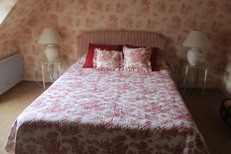 Chambre Ronsard, double - cadre agréable - Semblançay