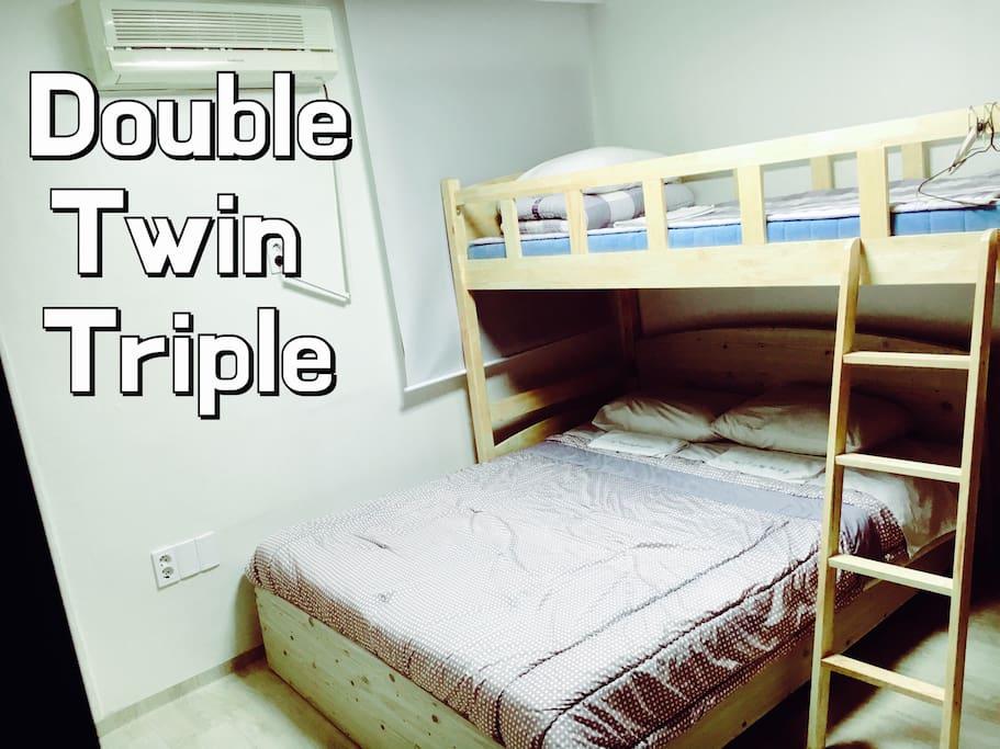트리플룸타입B/ Triple Room Type B