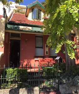 Terrace house close to city (room1) - Glebe - Talo