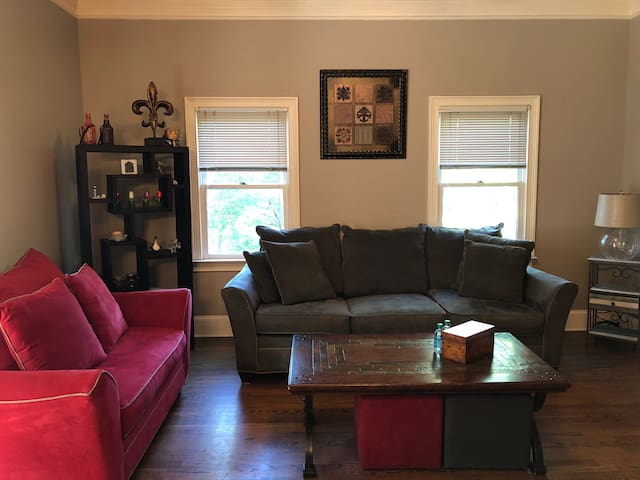 Historic Macon 2 bd/2ba Apt All to Yourself!