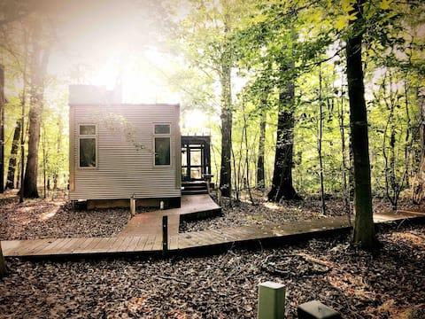 Лесной ретрит The Pocket House