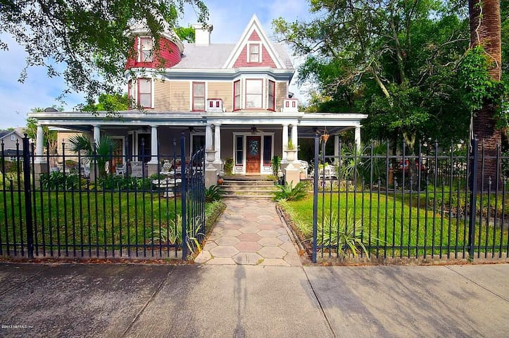 Beautiful victorian in historic Springfield - Jacksonville - Appartamento