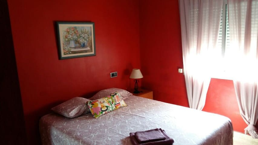 Habitación privada de matrimonio Barcelona