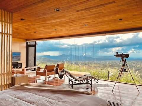 Hytte 2 - moderne hytte med panoramautsikt