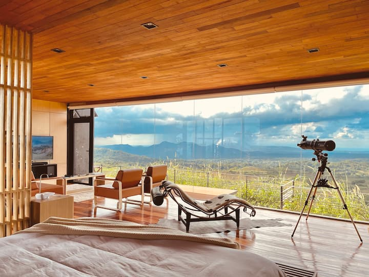 Cabin 2 - Modern Cabin with panoramic view