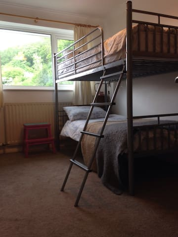 Sunny Room in quiet location nr Dartmoor. - ASHBURTON - Huis