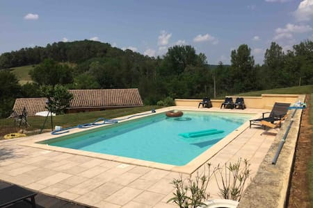 Dordogne de-Luxe Pool Privacy for 6
