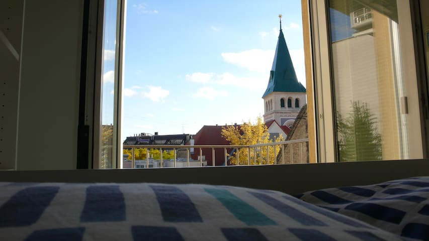 O2: CENTER-OLD TOWN, a renewed room with balcony - Bratislava - Appartement