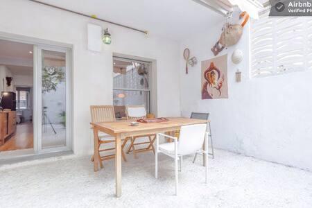 Bonita planta baja con patio - Palma - Lejlighed