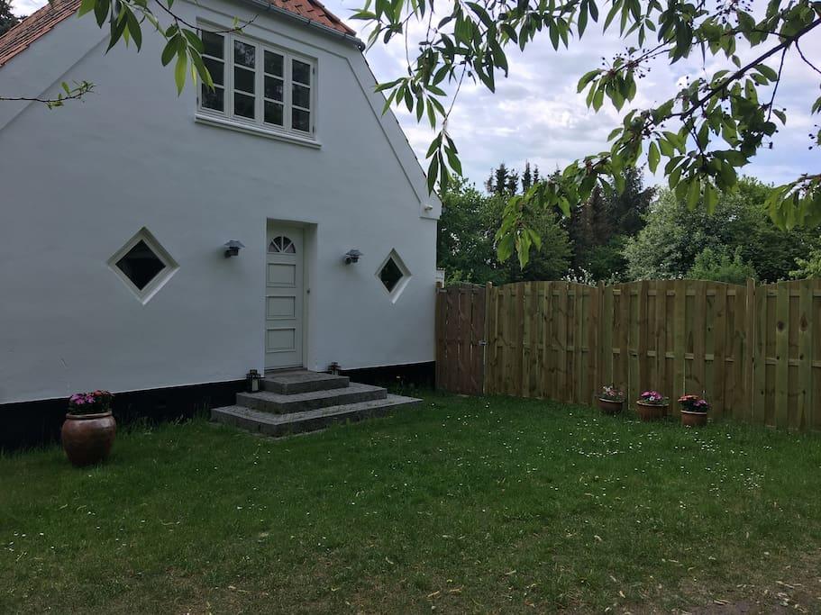 Husets forside