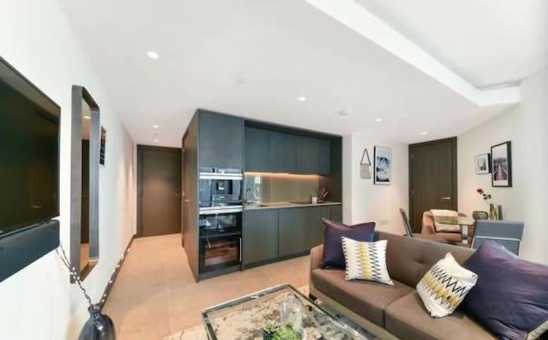 Luxury studio apartment