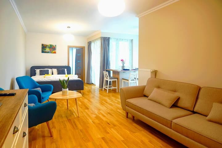 5* Luxury near Muzeului and Unirii square -Barbecue place -2 king bedrooms