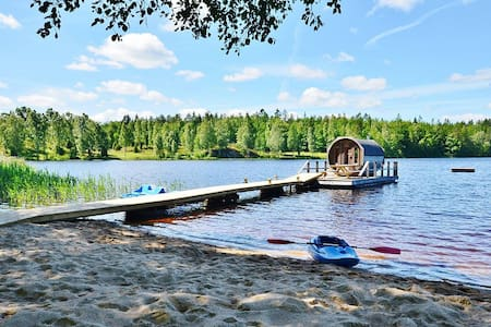 Private beach with all-inclusive spa experience - Ronneby