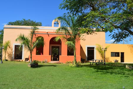 EXPERIENCE BEAUTIFUL HACIENDA SAN FERNANDO YUCATAN