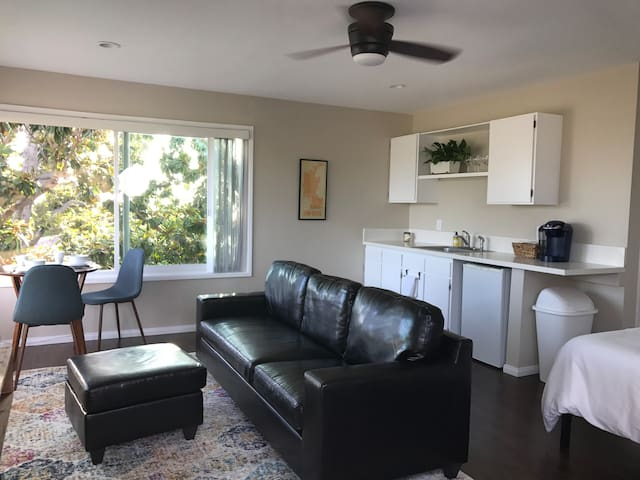 Private Mission Bay Studio with a View