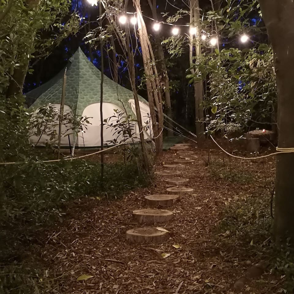 Your Glamping tent
