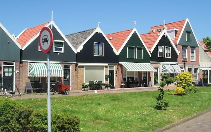 House in the center of Volendam
