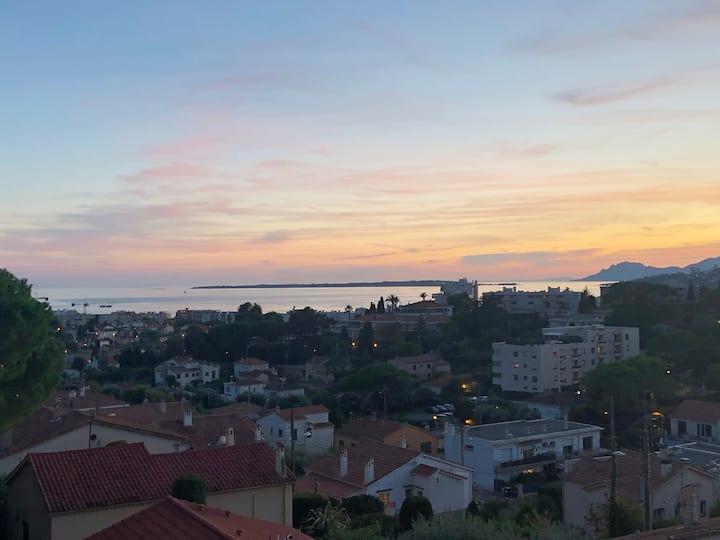 Un petit paradis vue sur mer