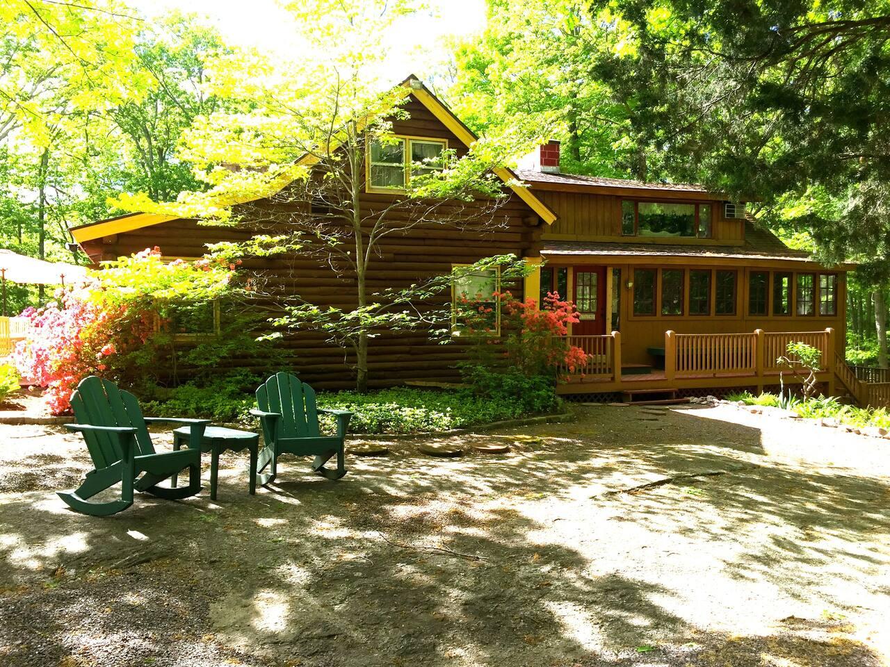 Granite Lodge In Spring