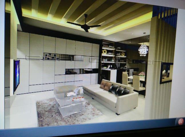 Surian Residence  near airport - Penampang - Apartamento