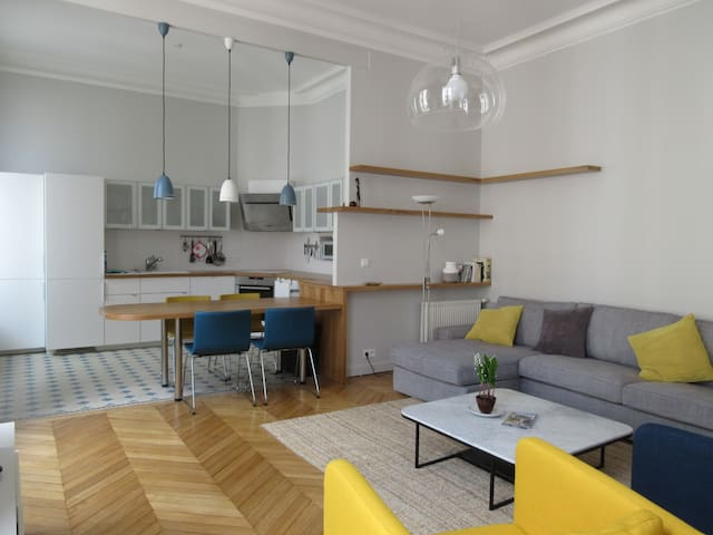 Appartment design city center - Orléans - Leilighet