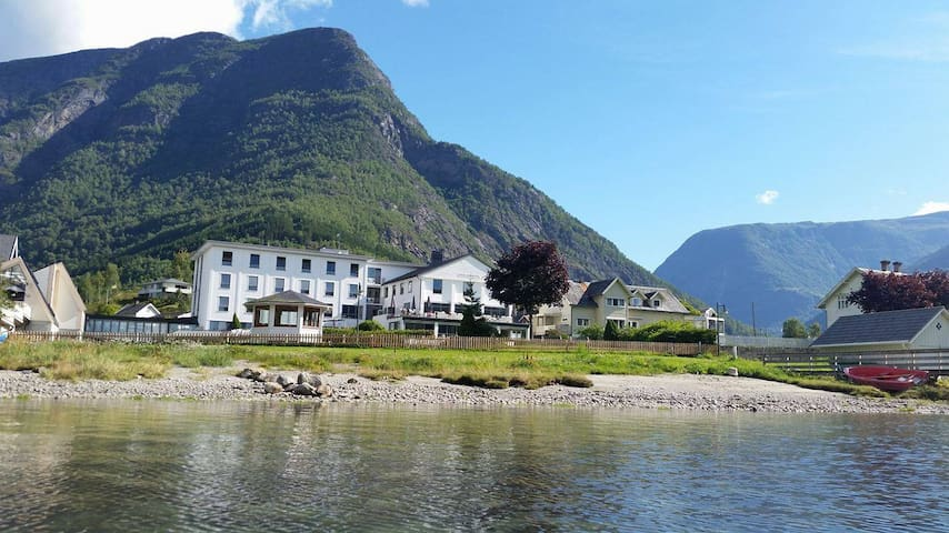Skjolden Hotel in the idyllic Sognefjord