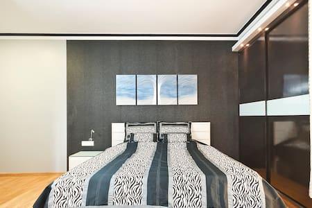 Luxury bedroom in apartment - Greater Noida